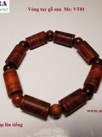 Vòng tay gỗ sưa đỏ quý hiếm