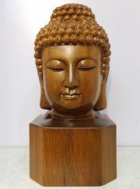 Diện Phật gỗ Bách Xanh