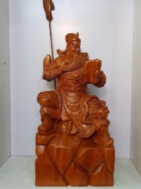 Quan Công gỗ Hương Ta