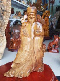 Thần Tài gỗ Bách Xanh